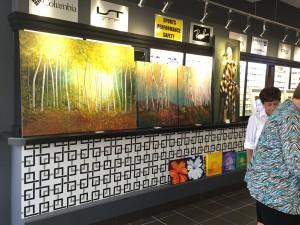 Art in an Optical in Milton Ontario