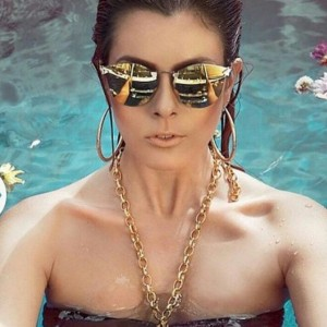 Gorgeous Fendi sunglass made in Italy