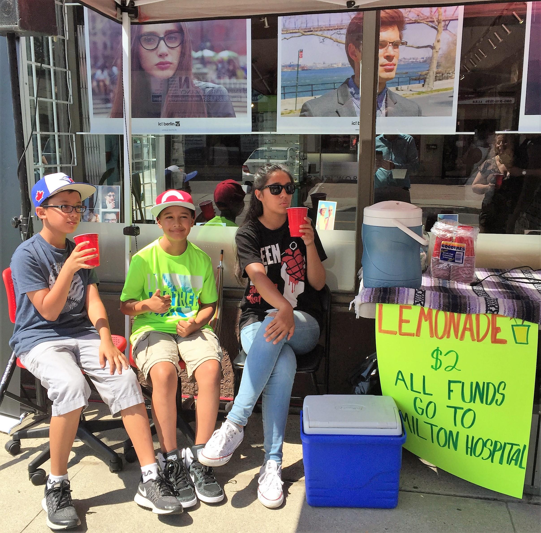 MDHF lemonade stand