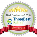 Three Best Rated award for 2018. Best Optical in Milton.