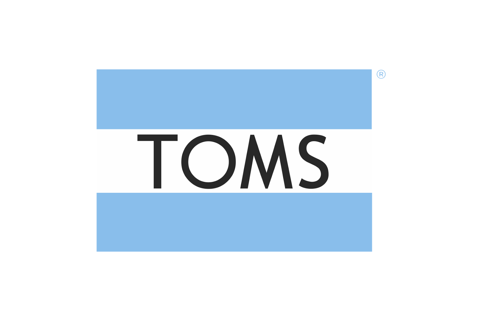 Toms eyeglasses and sunglasses logo