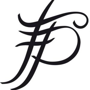 Logo for Francois Pinto eyeglasses and sunglasses