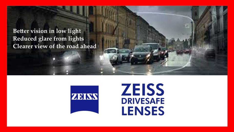 Night driving eyeglasses